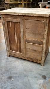 Custom Wood Vanity Cabinet Your Custom Rustic Barn Wood Vanity Or Cabinet By