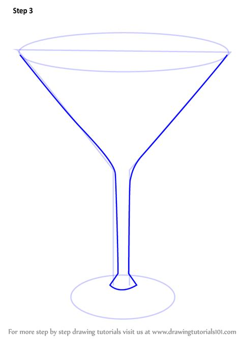 martini drawing learn how to draw a martini drinks by