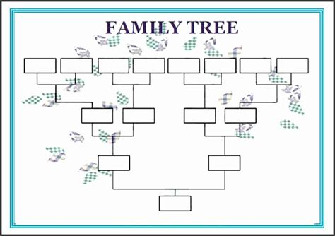 11 Genogram Printable Sletemplatess Sletemplatess Genogram Template For Word