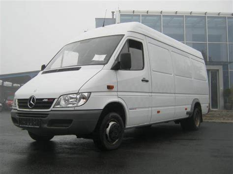 Mercedes Sprinter 416 Cdi Closed Box From