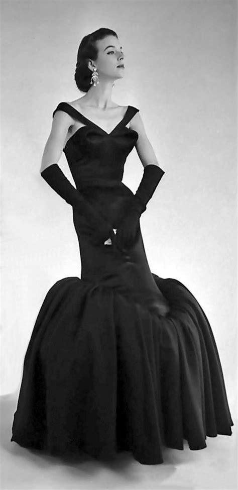 1950 s designer black formal 5330 best 1950 s vogue images on vintage style