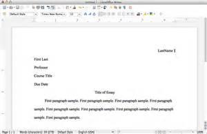 Mla format using libreoffice mlaformat org