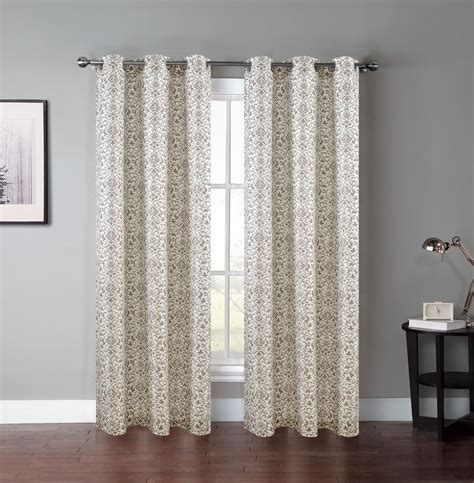 panel curtains for windows pair of atlantis window curtain panels w grommets