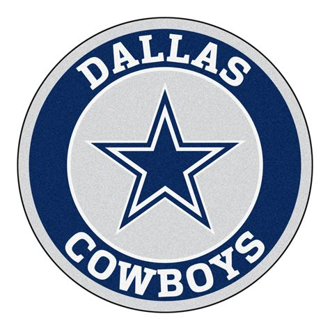 Funny Doormat by Dallas Cowboys Logo Roundel Mat 27 Quot Round Area Rug