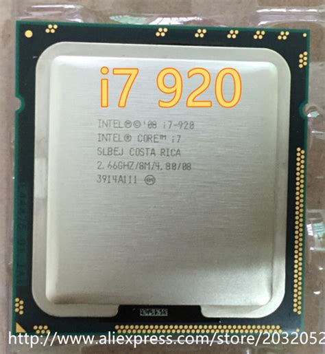 I7 920 Sockel by Aliexpress Buy Intel I7 920 Slbch Slbej 2 66 Ghz L3 8m Processor Socket