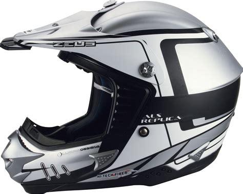 Helm Zeus Zs2100b Silver Size M zeus motocross 907c helmet on wheels