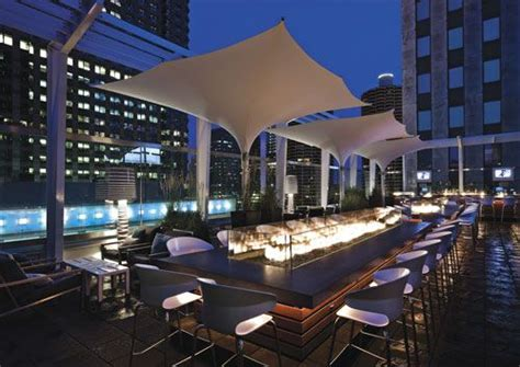 Roof Top Bar Chicago by The Roof At The Wit Bar In Chicago Illinois