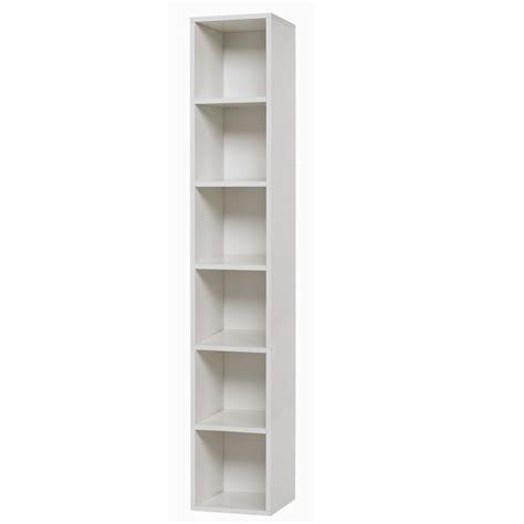 bookcases ideas oxford 24 inch white six shelf