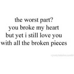 broken heart polyvore