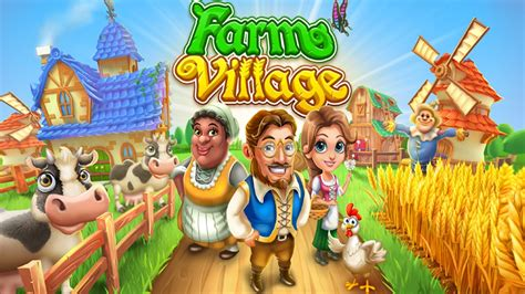 game farm village mod apk farm village middle ages ios android hd gameplay