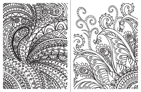 design coloring books posh coloring book paisley designs for relaxation
