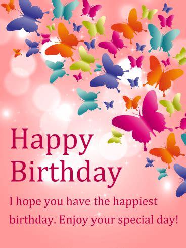 cards for birthday shining butterfly happy birthday card birthday
