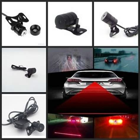 Car Motor Laser Fog Light auto car laser fog light anti collision safetywarning signal taillight bulb l ebay