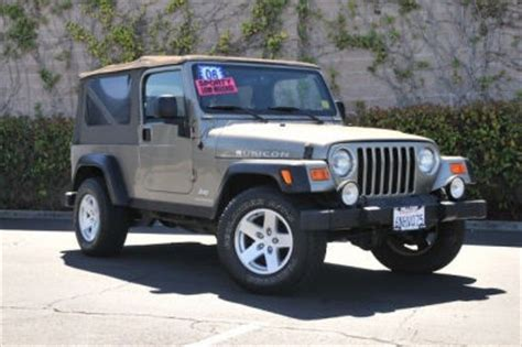 Jeeps For Sale In Ca Used Jeep Wrangler For Sale San Francisco Ca Cargurus