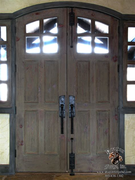 Arts And Crafts Front Door Arts And Crafts Front Door Hardware 7 Forge Colorado Blacksmith Custom Forged