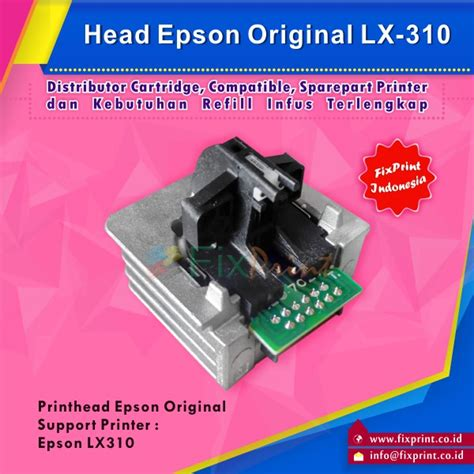 Pita Epson Lx 310 By Mitra Part jual printer epson lx310 original new fixprint