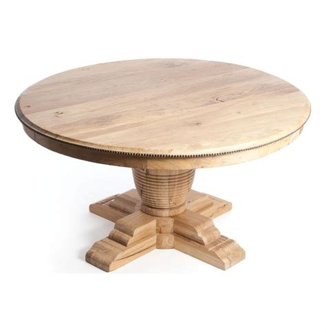Vineyard Farm House Trestle Base 60 Quot Round Dining Table Roundtable Or Table