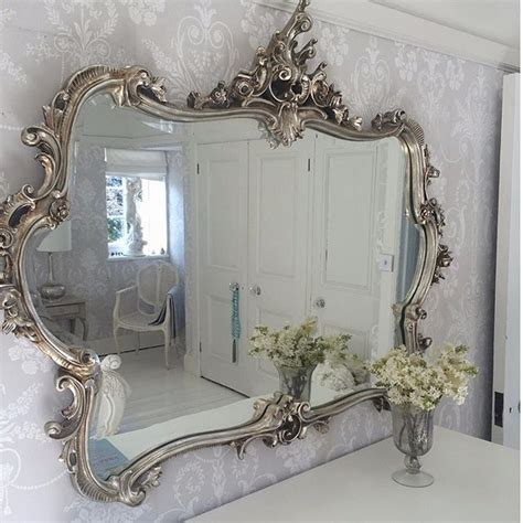 silver mirrors for bedroom 25 best ideas about shabby french chic on pinterest