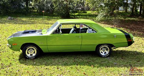 swinging plymouth dodge dart swinger 1972