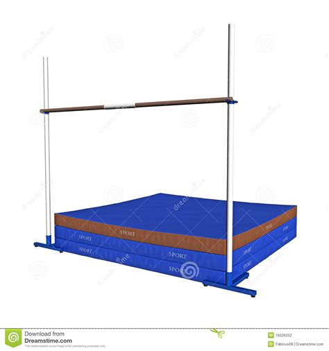 Used High Jump Mats by High Jump Equipment Stock Photography Image 16526252