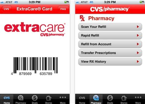 Cvs Gift Card Number - cvs pharmacy iphone app adds virtual loyalty card macmixing