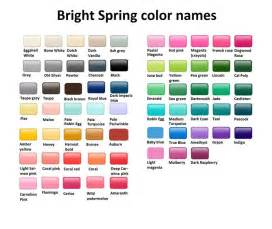 bright spring color names clear warm helder warm kleurtype pinterest bright spring spring