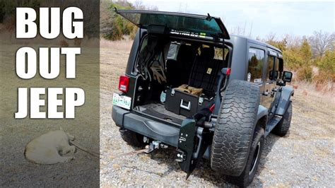 tactical jeep bug out jeep progress report trunk gear storage tips