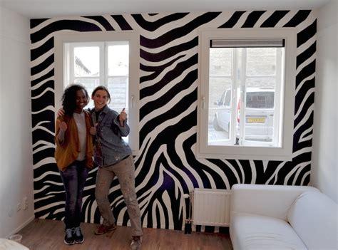 zebra möbel zebraprint op de muur miranda maakt het mooi