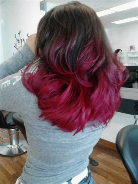 hairstyles with dyed ends 80 best images about dye jobs i want on pinterest ombre