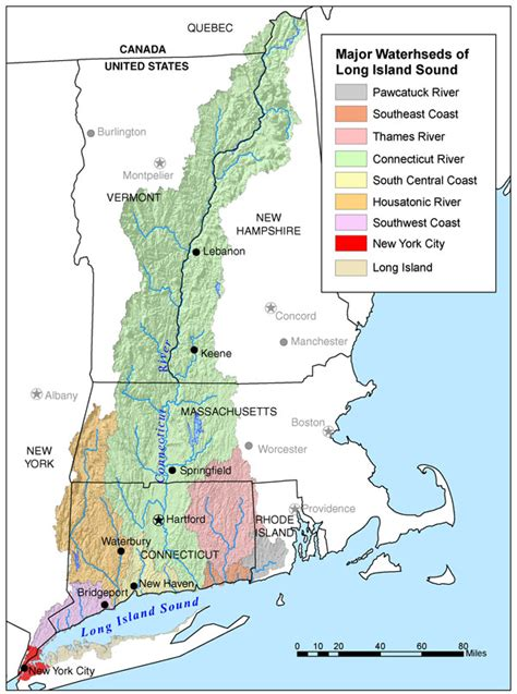 What Is Water Shed by Usgs Connecticut River Watershed Atlas