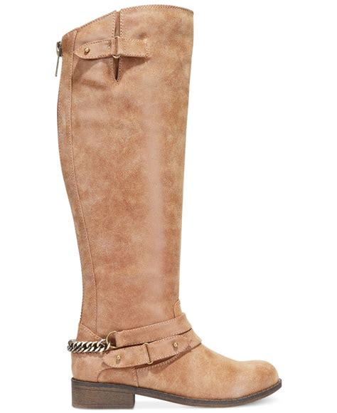 madden boots brown madden caanyon shaft boots in brown lyst