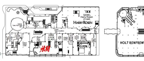pacific mall floor plan harry rosen continues overhaul of its pacific centre flagship