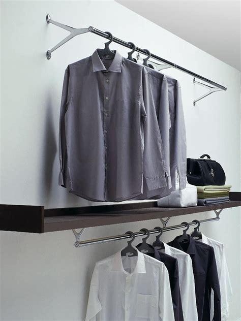 lade a muro design kleiderhaken aus verchromtem stahl und aluminium poliert