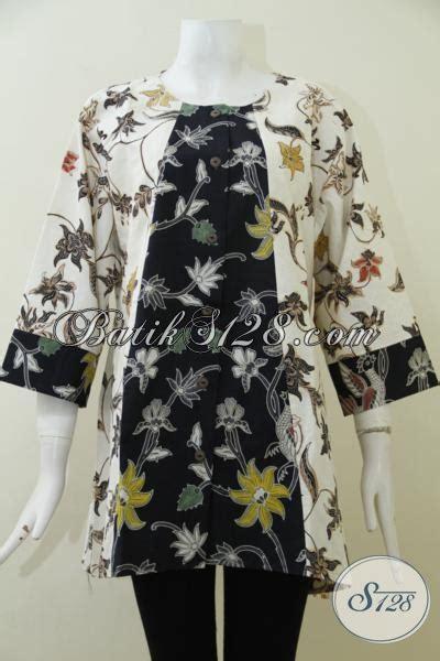 desain kemeja wanita gemuk batik jumbo desain mewah nan elegan baju batik untuk