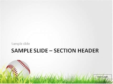 baseball bat template free 21 baseball powerpoint templates you can free