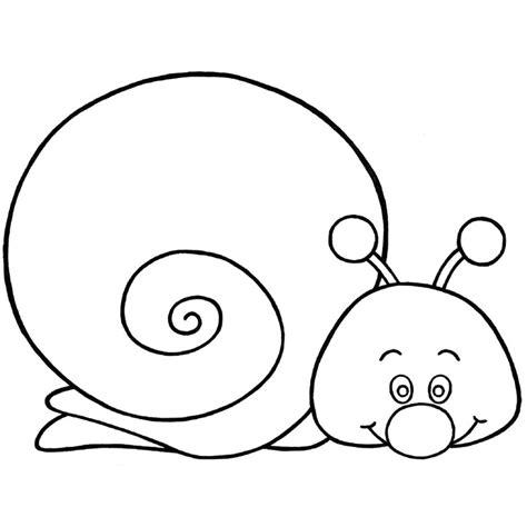 Coloriage Escargot Rigolo A Imprimer Gratuit