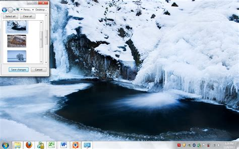 themes for windows 7 winter winter windows 7 theme celebrate the season in style