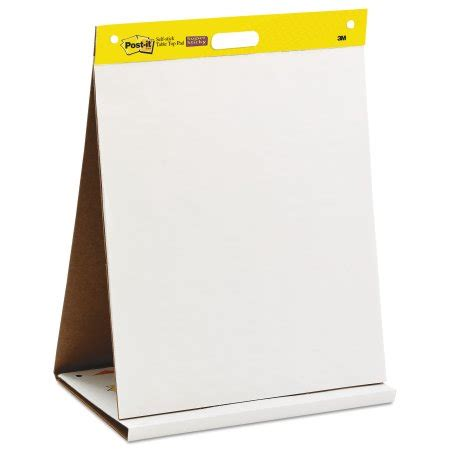 021200596384 upc post it easel pads self stick tabletop