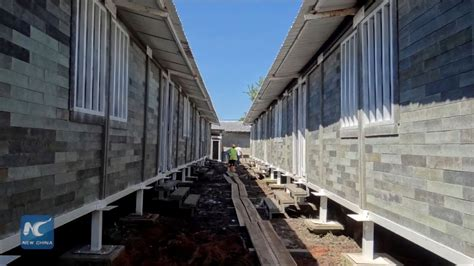 colombia builds houses  blocks   discarded