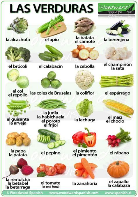 3 vegetables in vegetables in las verduras en espa 241 ol