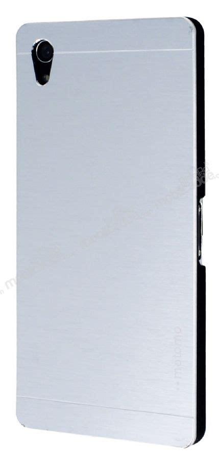 Sony Xperia Z2 Motomo motomo sony xperia z2 metal silver rubber kılıf stoktan teslim