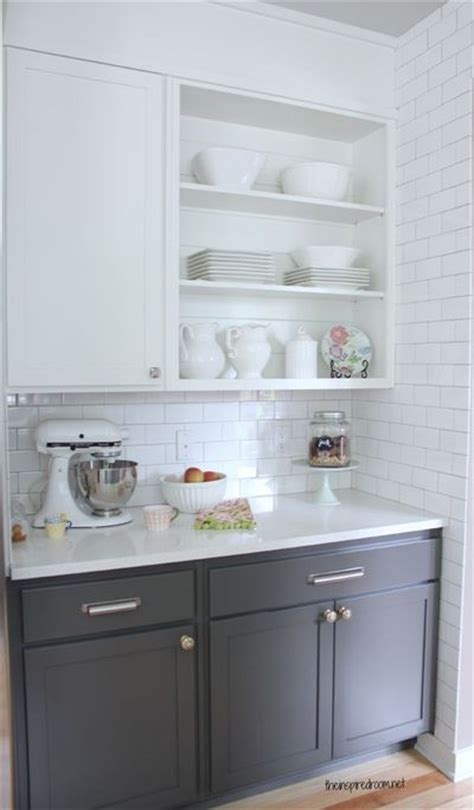 white upper cabinets grey lower gray lower kitchen cabinets quicua com
