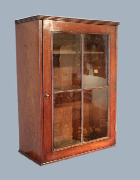 Wall Hanging Hutch Antique Wall Cupboard Antique Glazed Wall Hanging