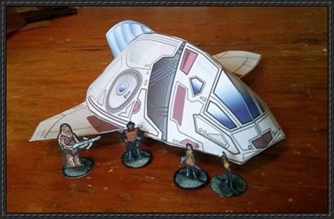Serenity Papercraft - firefly serenity sd shuttle free papercraft