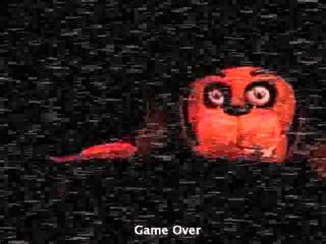 freddys game over nights at five five nights at freddys 2 toy bonnie death screen youtube