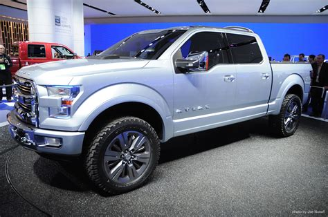 future ford trucks ford s atlas concept previews the future of the pickup