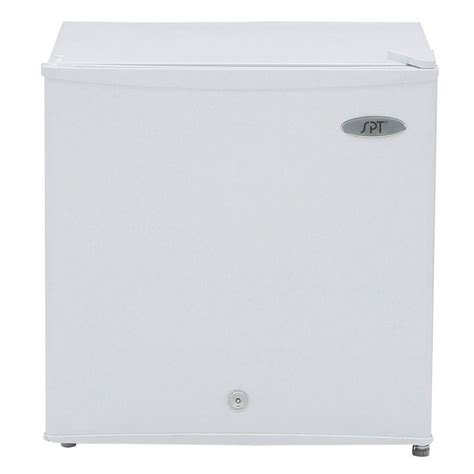 Small Upright Freezers At Home Depot Spt 1 1 Cu Ft Upright Compact Freezer In White Energy