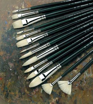 Winton Hog Brush No 12 Filbert Winsor Newton brushes