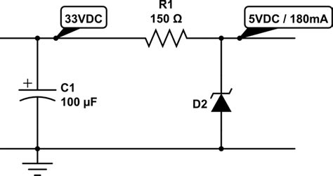 voltage regulator using zener diode and op 24vac to 5vdc conversion 171 rayshobby net