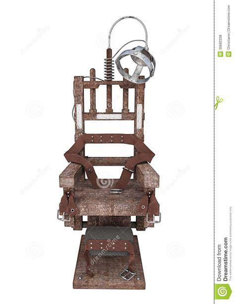 elektrischer stuhl elektrischer stuhl stock abbildung bild 39682338